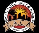 Bay Area Concierge Service Logo - Call our limo transportation service in Tampa, St Petersburg Florida, for luxury limousine service with a chauffeur.