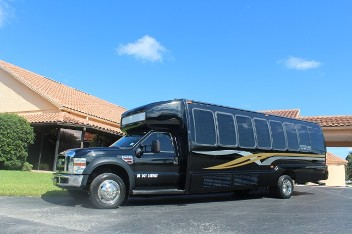Sedan - Call our limo transportation service in Tampa, Florida, for luxury limousine service with chauffeur.
